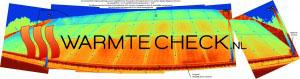 Zonnepanelen in infrarood bekeken