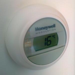 Thermostaat-nachtverlaging